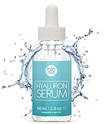 The best Hyaluronic Acid Serum with Vitamin C + Green Tea + Vitamin E. All Natural Anti-Aging + Anti-Wrinkle + Collagen Boosting face serum with organic ingredients for all skin types. 60ml (2oz)
