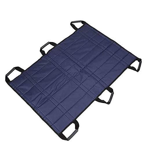 Z-SEAT Positionieren des Bettpolster-Transfergurtschlittens mit verstärkten Griffen - Medizinisches Heben von Sling-Mobilitätsgeräten Pflege Krankenhausbett-Patienten Posit