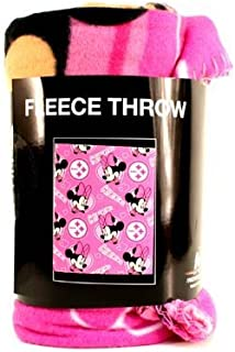 The Northwest Company Pittsburgh Steelers Minnie Mouse Fleece Blanket Throw 40