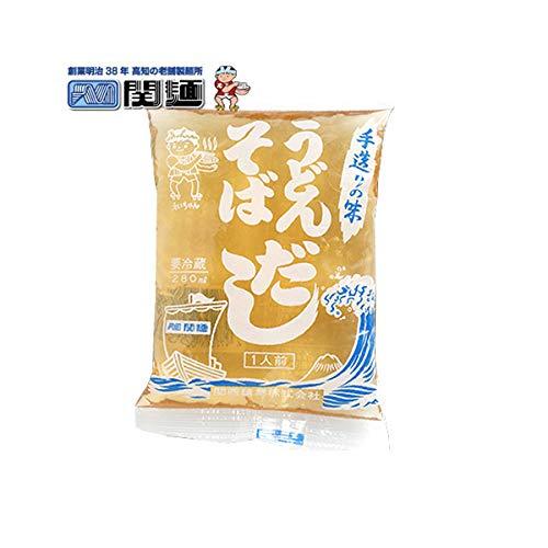 手造り鰹だしめんつゆうどんそばスープ 自家製だし / 関西麺業 / 冷蔵便 (お試しセット5人前)