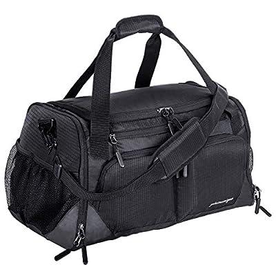compartment gym bag