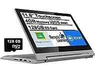 """Newest Lenovo Flex 3 11.6"""" HD Touchscreen 2-in-1 Chromebook Laptop, MediaTek MT8173C Quad-Core CPU, ..."""