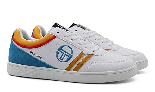 Sergio Tacchini - Sneakers Casual COBY LTX per Uomo con Suola in Gomma (EU 41)