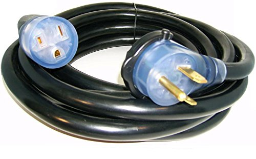 Kosmo Supply 50' 220 Volt 50 Amp Heavy Duty 8/3 Welder Extension Cord MIG TIG Plasma
