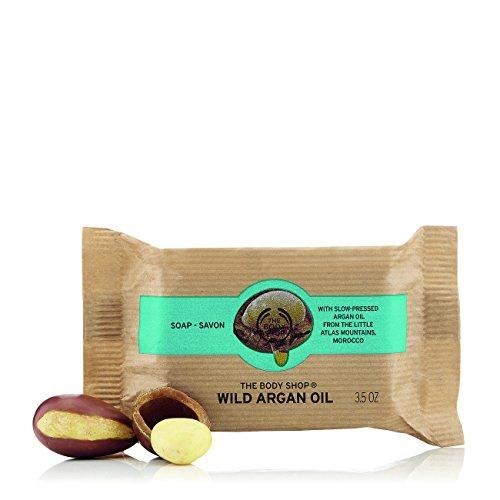 El cuerpo Shop Wild aceite de argán jabón 100g