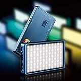 FalconEyes 12W RGB LED Mini Bolsillo con luz de cámara magnética con 18...