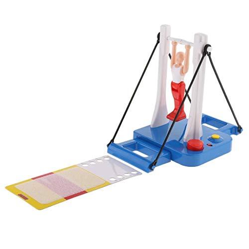 HYY-AA Fantastic Gymnastics Juego Gimnasta Figura giratoria Atleta Junta Juego del Juguete for niños y niñas Edad 8+