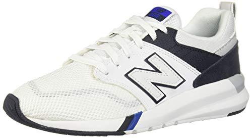 New Balance Men's 009 V1 Sneaker, White, 10 D US
