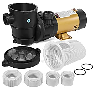 Energy Saving Swimming Pool Pump heavy-duty, high-performance motor with air-flow ventilation for quieter, cooler operation Built-in (2) Speed settings gives more user control to adjust the speed of water transfer with the low and high settings betwe...