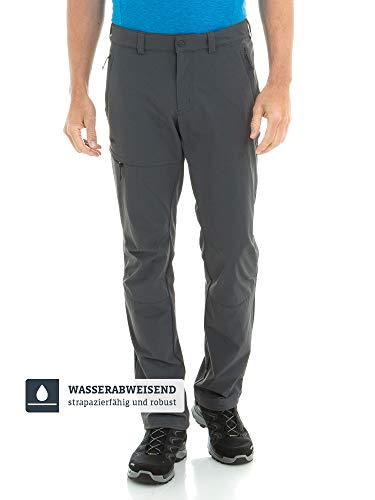 Schöffel Herren Pants Koper1 bequeme und robuste Herren Hose mit 4-Wege-Stretch, elastische und wasserabweisende Wanderhose für Männer, asphalt, 52