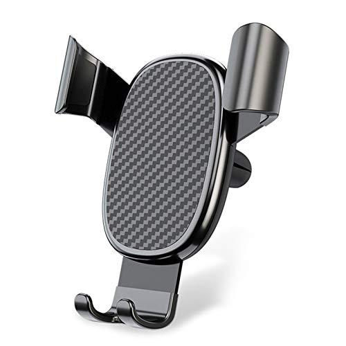 Fesjoy Soporte para teléfono de Coche, Soporte Universal para teléfono con Sensor de Gravedad para automóvil, para salpicadero de automóvil, Parabrisas, ventilación, liberación automática, Soporte
