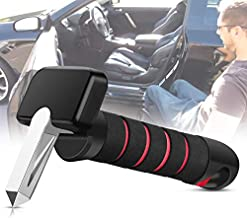Car Cane for Mobility Aids - 3-in-1 Car Assist Handle with Window Breaker and Seat Belt Cutter, Automotive Standing Aids for The Elderly and Injured