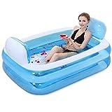SESO UK- Tubble Aufblasbare Badewanne Erwachsene Größe Portable Home Spa, Baby Early Education Schwimmbad, Komfortable Bad, Qualität Wanne (Farbe : Blau)