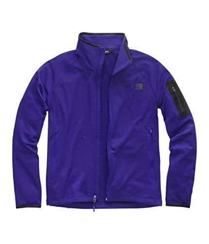 The North Face Men's Borod Full Zip, Aztec Blue/TNF Black, Size XL