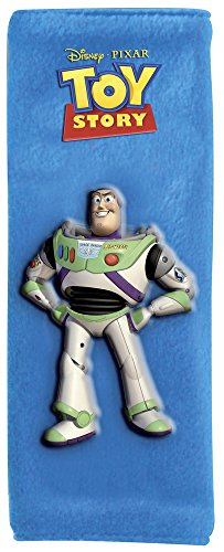 Disney Baby Seat Belt Cover Toy Story Buzz (Blue)