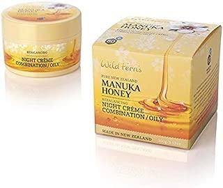 Wild Ferns Manuka Honey Night Cream Combination Oily