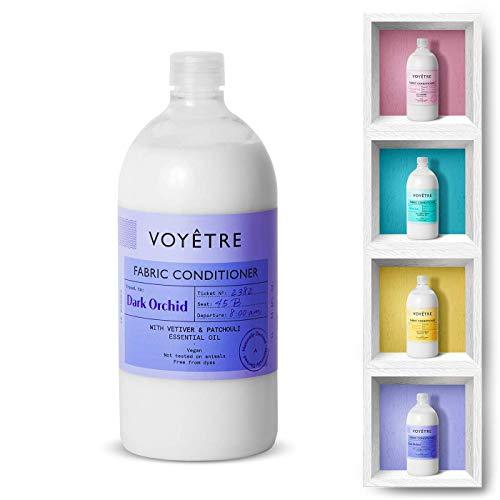 Voyetre Suavizante Concentrado para lavadora - Natural, vegano, fórmula biodegradable [1L – 28 lavados] (Dark Orchid)