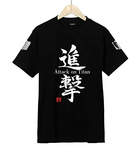 Douzxc Anime Heren T-Shirts Gym Training T-Shirt Attack On Titan Summer T-Shirt Met Korte Mouwen