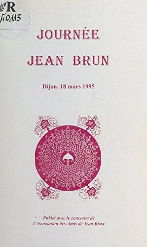 Journée Jean Brun : Dijon, 18 mars 1995 (French Edition)