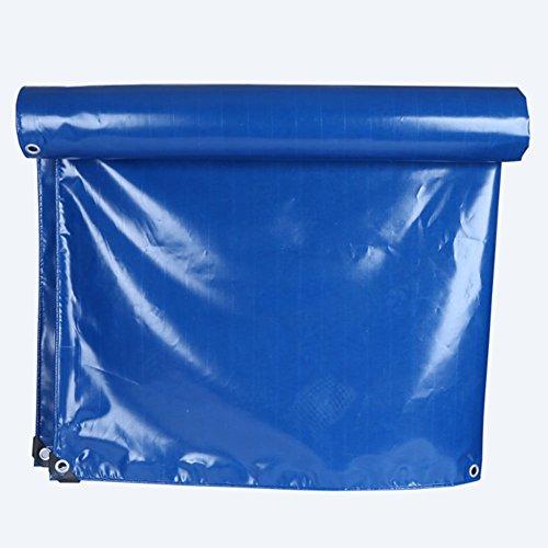 Yxsd blauw mono paviljoen PVC tarpaulin verschillende maten - versterkte zoom + ogen 3x3m