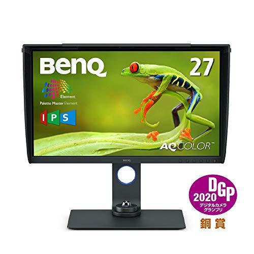 ベンキュージャパン BenQ27型カラーマネジメントモニターSW270C(WQHD/IPS/AdobeRGB99%/DisplayP397%/HDR/US...