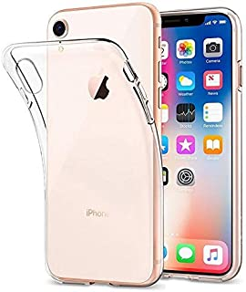 iPhone XR Slim Flexible TPU Protective Case Cover - Clear