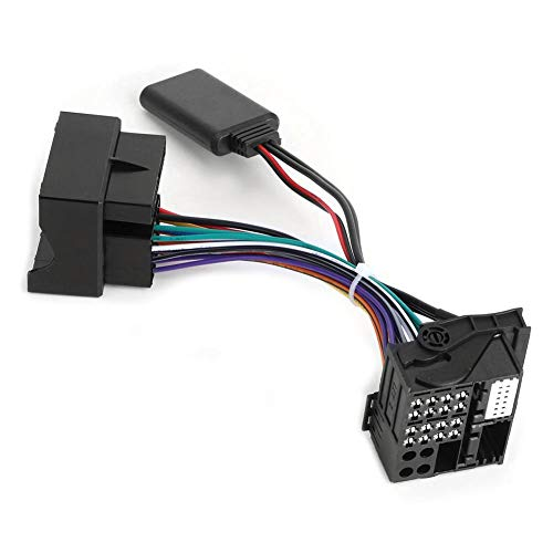 Ladieshow Adattatore Audio Aux, Adattatore per Cavo aux modulo autoradio Bluetooth Adatto per RCD510 300+ 310 RCD210