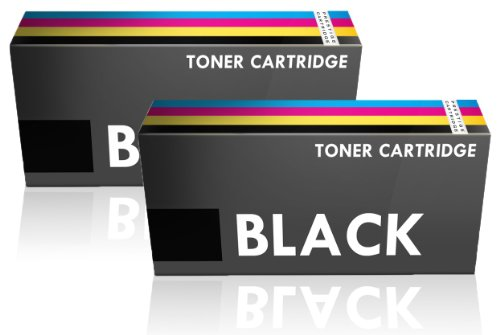 Compatible Laser Toner Cartridge for Dell 1130, 1130n, 1133, 1135n - BLACK, 2-PACK