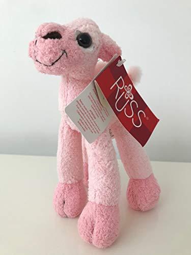 Russ Berrie Hellrosa Camel 17,8 cm