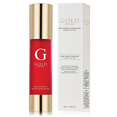 Gold Serums Pure anti-ageing Skin Nourish ACDE Day Moisturiser