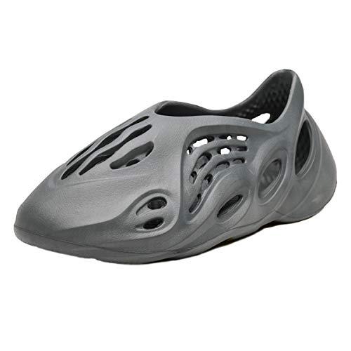 OFFA Pantuflas Pantuflas Zapatillas para Hombres Sandalias De Jardín Zapatos De Jardín Ligero Cómodo Amortiguador Verano Al Aire Libre Playa Zapatos De Agua Sandalia Caminando Zapatos