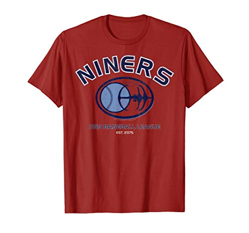 Star Trek DS9 Niners Baseball League Logo Graphic T-Shirt