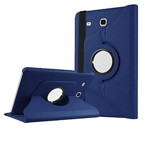 Beebiz Samsung Galaxy Tab Copertura Cassa di coperture di Vibrazione 9.6 e con Il Caso del Basamento Cuoio dell'unità di Rotazione di 360 Gradi Custodia Protettiva per Samsung Galaxy 9,6 Pollici