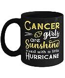 Cancer Girls Are Sunshine Mixed With A Little Hurricane Zodiac Star Sign Birthday Mug Horoscope Idea