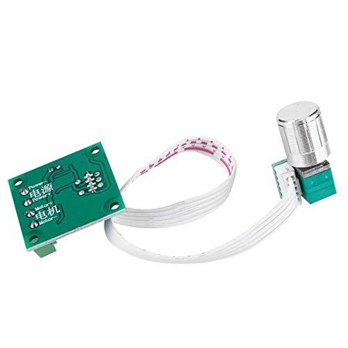 LF_FFa Controlador de Velocidad del Motor DC 1pc PWM 1,8 a 15 2A Interruptor de Velocidad 1803BKW Micro Interruptor (tamaño : 32 * 32 * 14mm)