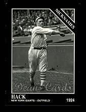 1993 Conlon # 736 Nicknames Hack Wilson San Francisco Giants (Baseball Card) Dean's Cards 8 - NM/MT Giants