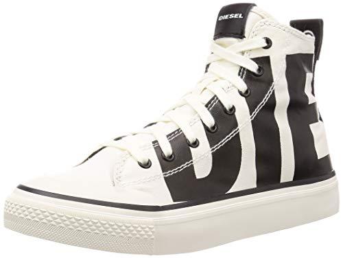 Diesel S-ASTICO MC Sneaker Herren Weiss/Schwarz - 46 - Sneaker High