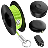Wiremag Puller, Magnetic Cable Fishing Tools Father's Day Gift, Office And Garden Repair Wire Fishing, Man Fish Tape Wire Puller Wall Fishing Tool, Wire Pulling System For Your Home And Outdoor…