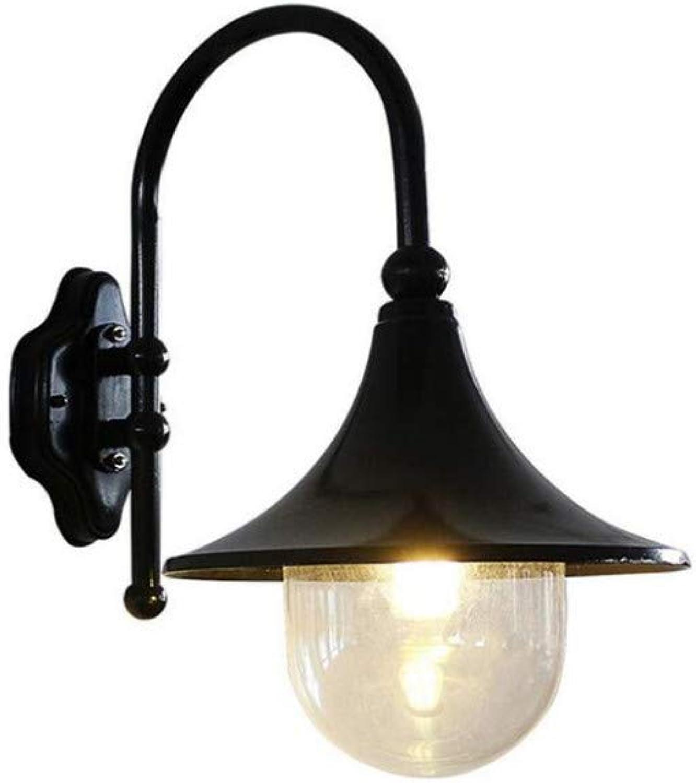Wandleuchte LED Wasserdichte E27 Basis Hof Tür Garten Lampe Auenbeleuchtung Wandlaterne Villa Balkon Korridor Rost Wandleuchte