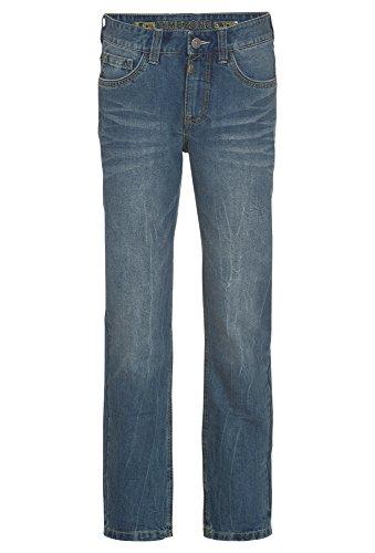 Timezone Herren Regular Coast Straight Jeans, Blau (Cool Wash 3212), W34/L34