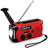 Best Hand Crank Radios - AIRSSON SOS 2000mAh Emergency Solar Hand Crank Portable Review