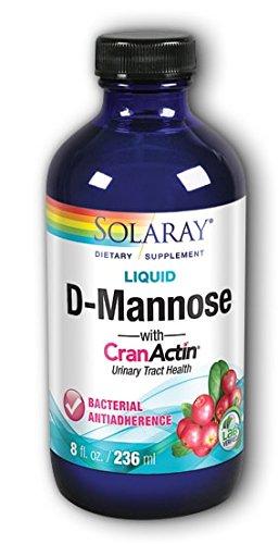 Solaray D-Mannose w/ CranActin Extract, Liquid (Btl-Plastic) | 8oz