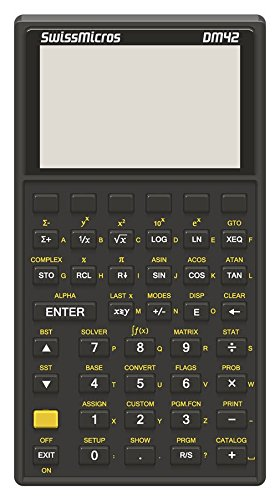 DM42 - der genaueste Taschenrechner