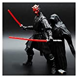 MNYHJDS Star Wars: Darth Maul (Movible) Figura de acción Anime Regalo Decoraciones de Juguete Star Wars Collection O