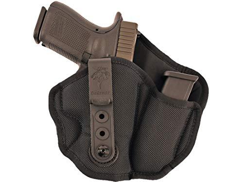 Gunhide, M89, Inner Piece 2.0 Inside Waistband Holster, Integrated Magazine Carrier, Right Hand, Black Nylon