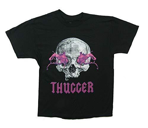 Young Thug Slime Skull Mens Black T Shirt Merch