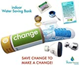 Indoor Water Bank Saving Eco-kit| Change | Faucet, Toilet, Aerator, Low Flow Shower Head Water Conservation
