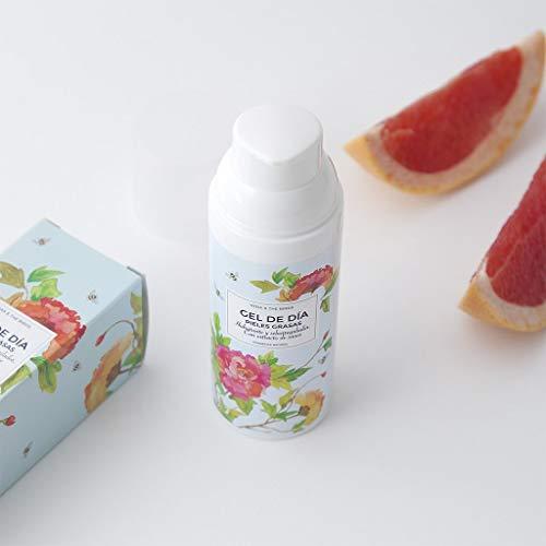 Gel facial hidratante para piel grasa