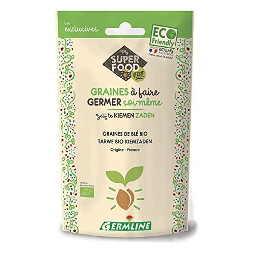 GERM'LINE - Graines À Germer Bio Ble 200G - Lot De 4