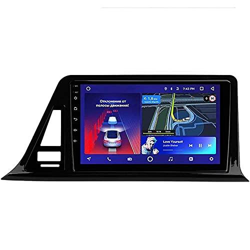 FFKL VIIPOO Android 10.0 Car Stereo Sat Nav Radio para Toyota C-HR 2016-2020 Navegación GPS Unidad Principal Pantalla Táctil MP5 Reproductor Multimedia Receptor De Video,Quad core-4G WiFi 1+32
